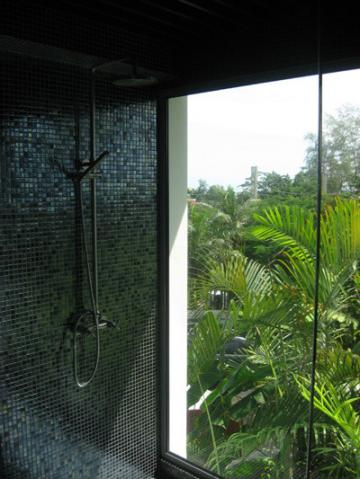 Mosaic Gun Metal Black. Surin Heights, Phuket